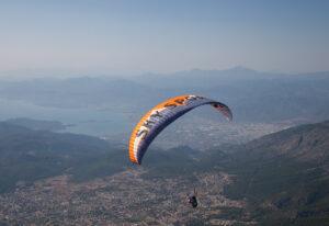 Fethiye'de yamaç paraşütü deneyimi