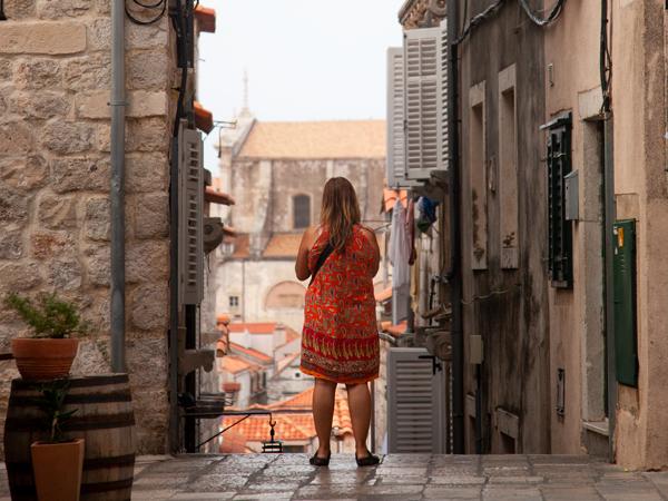 Dubrovnik Sokakları, Hırvatistan