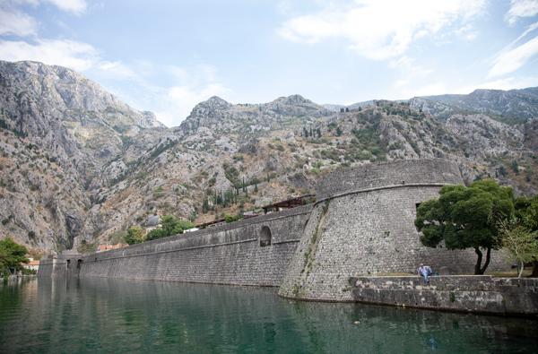 Kotor Kalesi, Karadağ