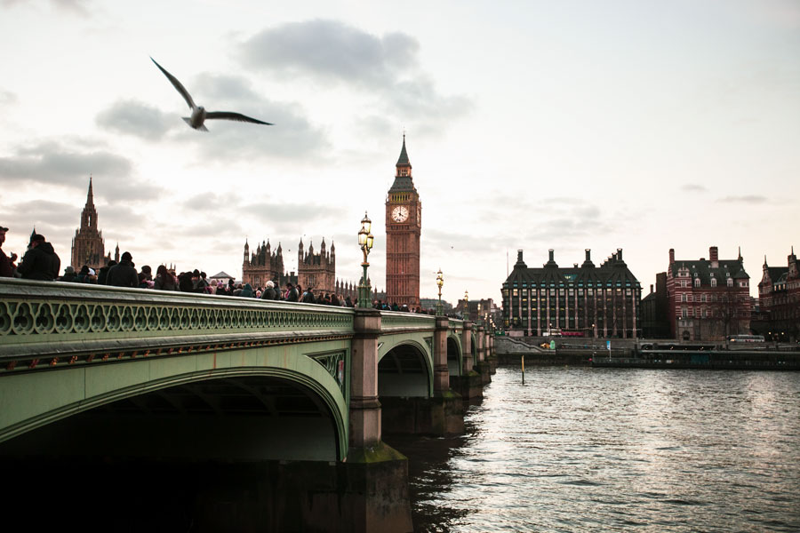 Westminster Köprüsü ve Big Ben