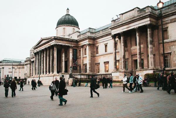 National Gallery, Trafalgar Meydanı