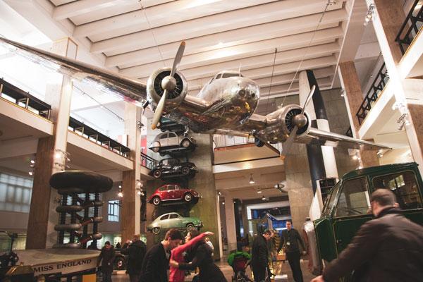 Bilim Müzesi, Giriş Katı