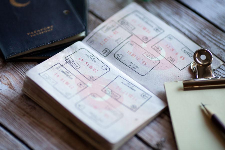 pasaport, dilekçe, vize