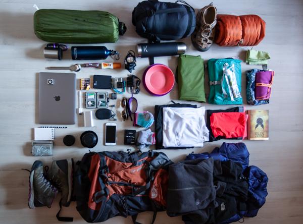 Kamp çantam