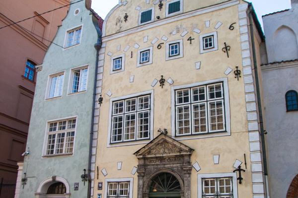 Riga gezilecek yeler - Üç Kardeşler