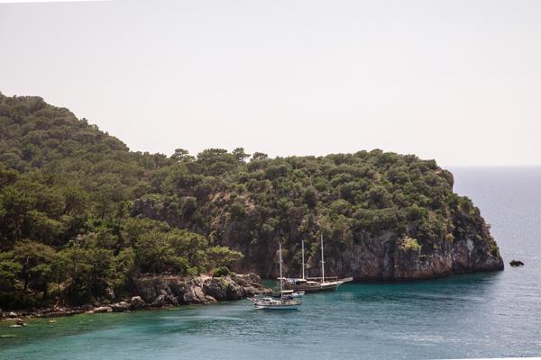 Antalya gezilecek yerler - Korsan Koyu