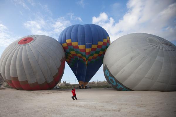 Kapadokya'da yapılacak aktiviteler - Balon turu