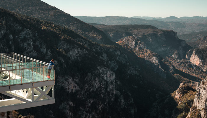 Kastamonu kanyonları Çatak Kanyonu